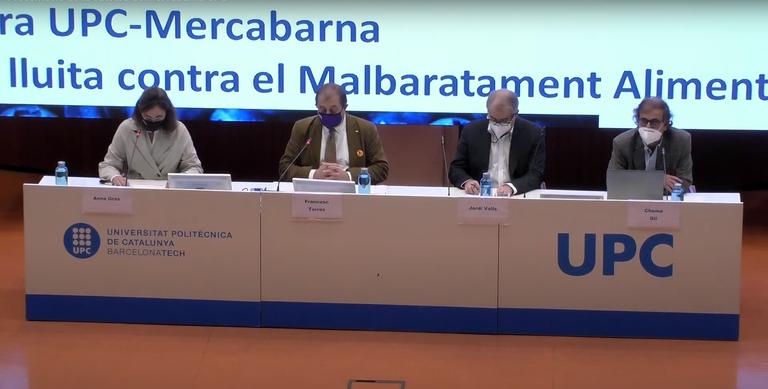 Presentació de la Càtedra UPC-Mercabarna
