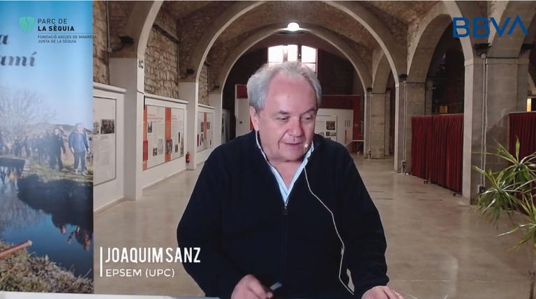 Cicle de Xerrades de Sostenibilitat amb Joaquim Sanz, professor de l'EPSEM