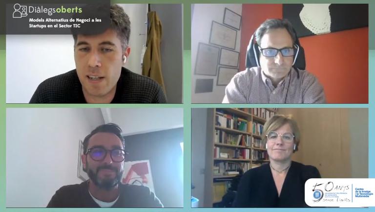 Taula rodona Models Alternatius de Negoci a les Startups en el sector TIC amb Carles Sora, director del CITM