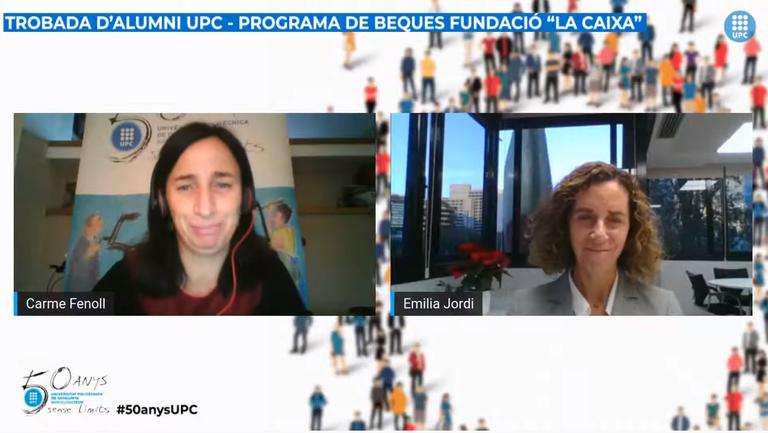 """Trobada d'Alumni UPC del programa de beques de la Fundació """"la Caixa"""""""