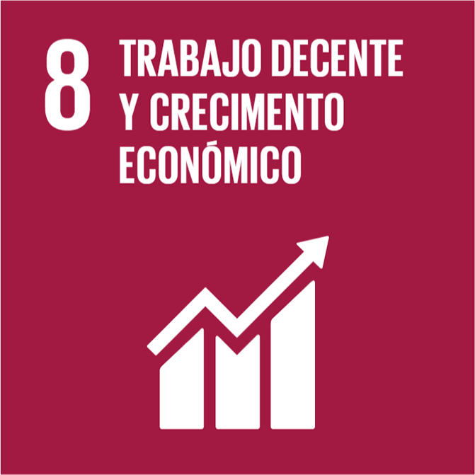 trabajo digno y crecimiento económico